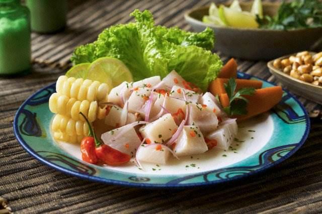 Los 10 platillos peruanos con menos calorías